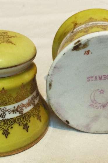 Osmanlı için yapılmış,Stamboul Ay ve Yıldız Damgalı Avusturya Sakızlık