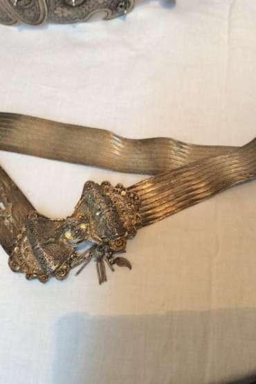 Osmanlı Tuğralı Gümüş Kemer
