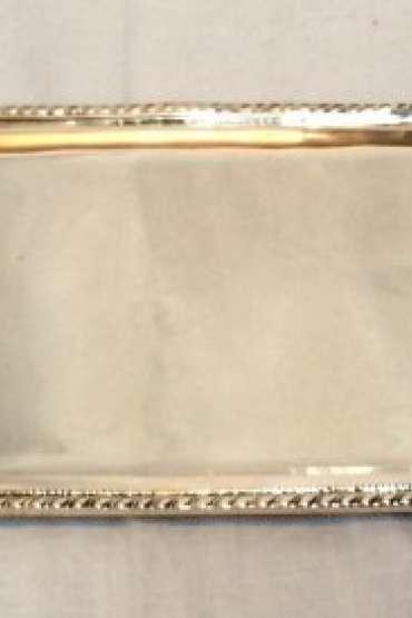 800 Ayar 460 gr Gümüş  Kahve Tepsisi