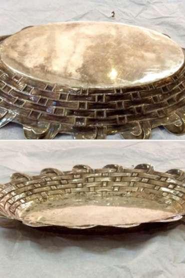 800 Ayar Gümüş Ekmek sepeti 160 gr.