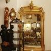 Fransız Altın Mazgala Taş Ayna