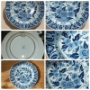 1840-1850 HOLLANDA TABAK DELFT&BULUE