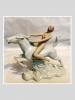 Wallendorf Atlı Porslen Nü Figür
