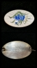 Gümüş Mineli Broş