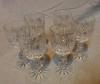 Kristal ALTI adet Likör Kadehi