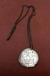 Gümüş Zincirli Sedef Kolye