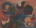 EDA ERDİK ''Figürlü Kompozisyon'' İmzalı, Tablo