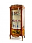 Vernis Martin Antique Vitrine