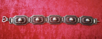 Antika Gümüş Bileklik  800