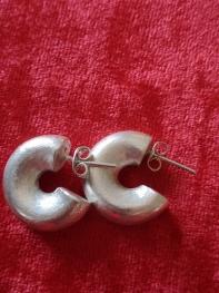 Gümüş küpe 33