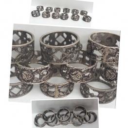 835 Gümüş 12 ad.Peçetelik