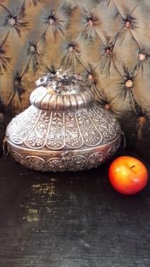 Osmanlı Tuğralı Gümüş Kutu
