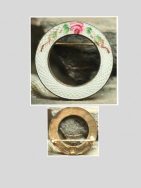 Vintage Mineli Broş